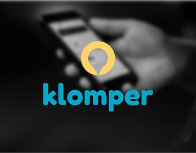 Klomper   Brand Identity