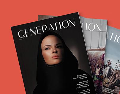 Generation Magazine 1-3 // Editorial Design