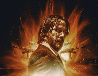 John Wick 3 Parabellum Official poster for VOX CINEMAS