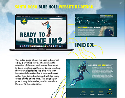 Santa Rosa Blue Hole website presentation