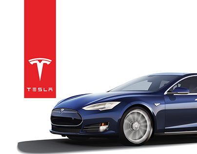 Tesla Illustration & Infographic