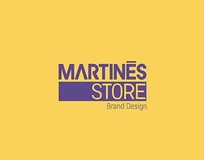 MARTINES STORE - Brand Design
