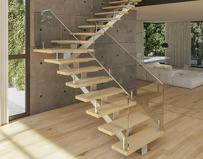 3D RENDERS FOR STAIRS CATALOGUE - 2020