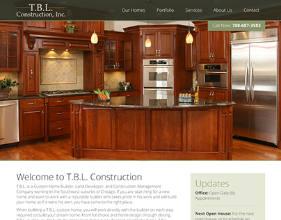 TBL Construction Website Design & Development