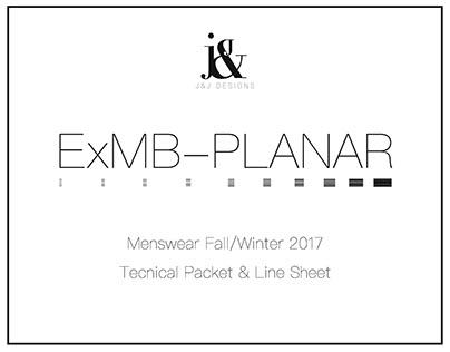 ExMB-PLANAR Tech Pack & Line Sheet