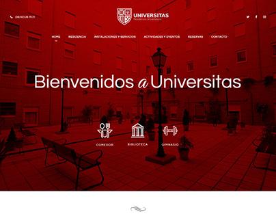 Colaborador en el diseño web para Universitas ArticMedi