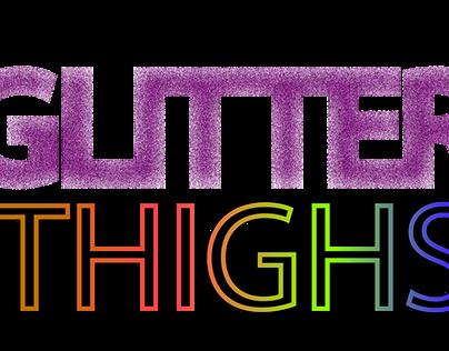 Glitter Thighs Logo