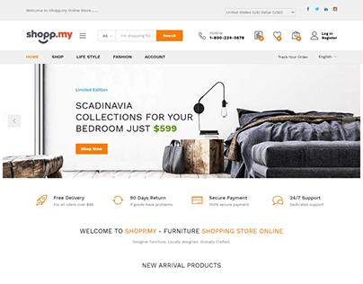 Furniture WooCommerce Store