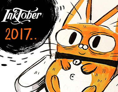 INKTOBER 2017 ( UPDATE EVERY DAY!! )