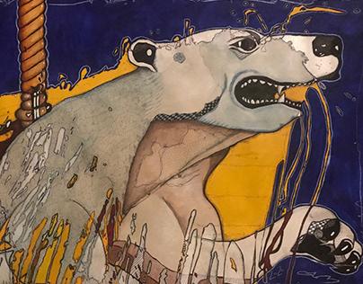 Carousel Polar Bear