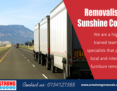 Removalist Sunshine Coast|https://armstrongremovals.com