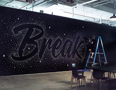 Break Free Mural