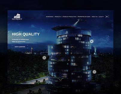 Iso Profit - web design