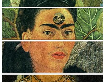 4 paintings, 1 artist