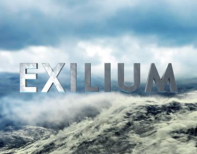 Exilium - 3D Movie Title Intro