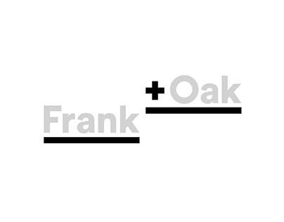 Frank & Oak | Adaptation