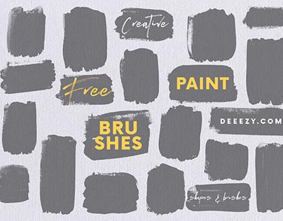 Free Grunge Shapes & Brushes
