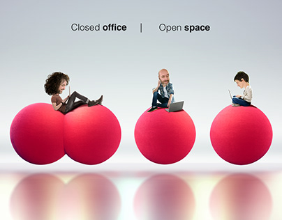Closed Office, Open Space