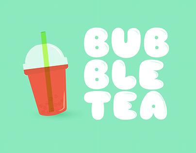 Motion design | Bubble Tea