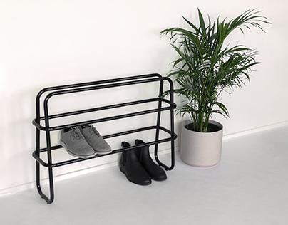 Frame Shoe Rack