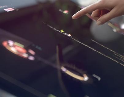 Sci-fi Interface — Toshiba USA Campaign.