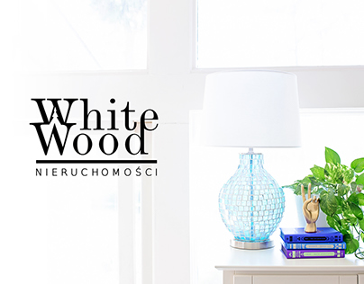 White Wood branding design