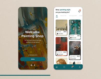Painting/Art Shop App