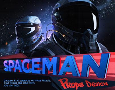 Spaceman! Props design
