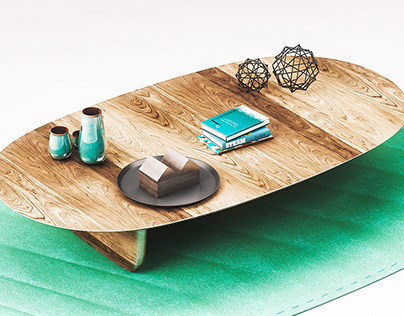 Coffee Table & Wares