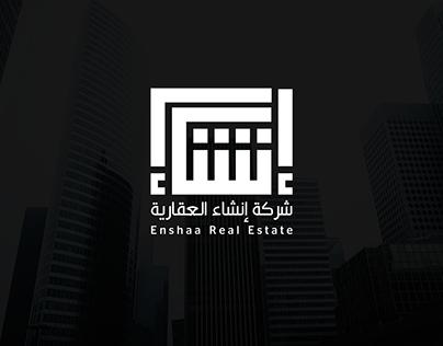 Enshaa Real Estate Logo