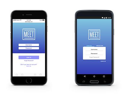 Meet Meeting Management App
