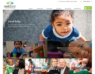 Next Door website redesign