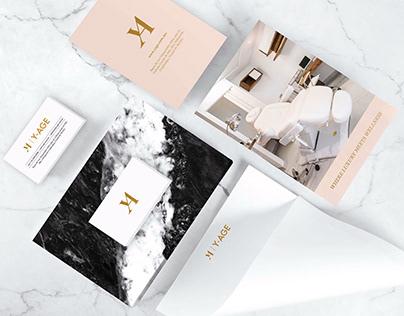 Diseño de Marca para Y-AGE Sports & Beauty Clinic