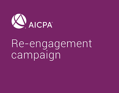 AICPA Re-engagement email campaign