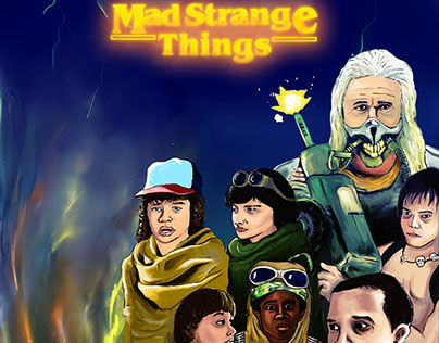 Mad strange things