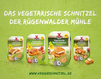"""Rügenwalder Mühle   Campaign Spot """"Veggieschnitzel"""""""