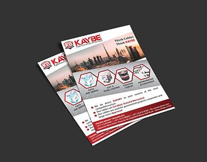 Flyer Designs - KB Trading