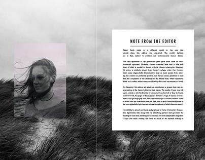 Exetera Magazine - Design and Layout