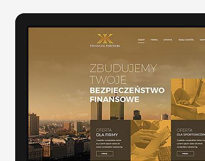 KK Financial - website