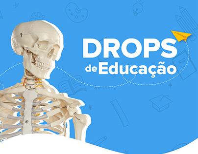 Drops de Educação - Social Media
