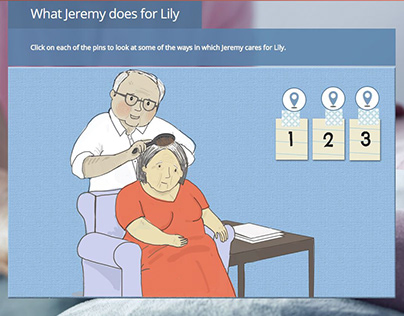 End of Life Care illustrations for Learning Pool