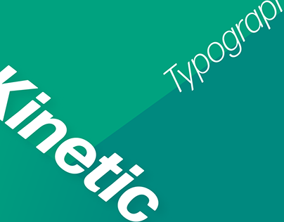 Kinetic Type | Motion Graphic