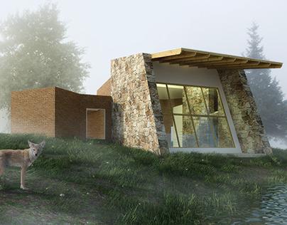 Casa-estudio Valle