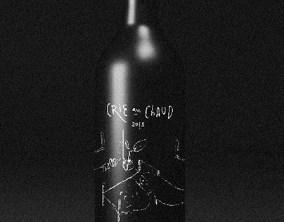 Wine Label 'Crie Au Chaud'