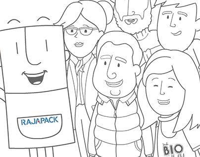 Rajapack Spain Video Package for e-commerce