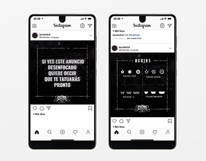 Social Media Posts - La Catedral with UY!Creativas