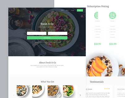 Fresh & Co | Web Design & Branding