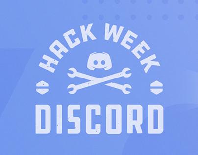 Discord Hackweek (UI/UX Design)