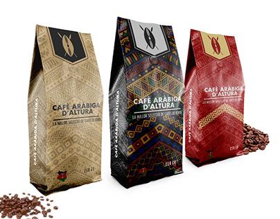 African Coffee: Packaging Design