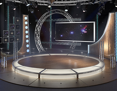 TV Studio Chat Set 23